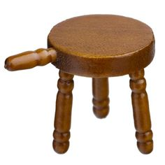 25% Off was $3.99, now is $2.99! Dollhouse Miniature Tiny Three-Legged Stool