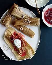 Burnt Strawberry Tamales | Food & Wine