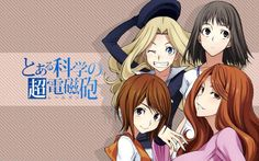 Fonds d'écran Manga > To Aru Kagaku no Railgun
