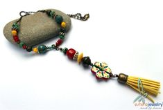 Handmade necklace by Janine Lucas from Esfera Jewelry