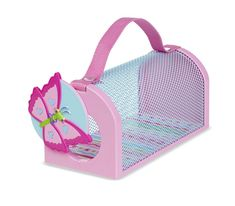 The Melissa and Doug Cutie Pie Butterfly Bug House is an adorable way to catch some bugs. With a swing open door for easy-access, sturdy handle, and plentiful air holes it offers the perfect place to house and observe insects and bugs. Toys For Little Kids, Kids Toys, Cage, 4 Year Old Girl, Melissa & Doug, Bugs And Insects, All Toys, Outdoor Play, Decorating Blogs