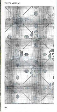 Vogue Dictionary of Crochet Stitches (incluye tunesino) - Natty Coello - Picasa Web Albums Filet Crochet Charts, Crochet Doily Patterns, Crochet Diagram, Knitting Charts, Thread Crochet, Crochet Motif, Crochet Doilies, Crochet Stitches, Knitting Patterns