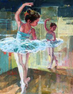 Galleries in Carmel California- Jones & Terwilliger - Corinne Hartley Art Ballet, Ballerina Painting, Ballerina Art, Painting Of Girl, Figure Painting, Painting & Drawing, Dance Ballet, Dancing Drawings, Art Drawings Sketches
