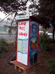 Little Free Library Portland, Oregon