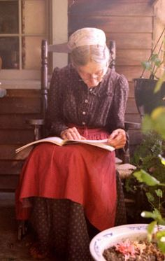 Tasha Tudor is seen at her home Marlboro, Vt., in an undated photo. The illustrator of more than 100 books loved home crafts and dressed in the style of the 1830s.