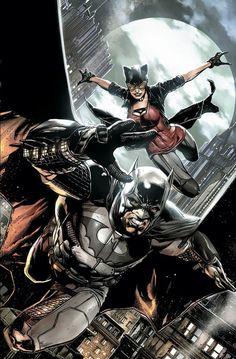 Detective Comics - Batman and Catwoman by Jason Fabok * Catwoman Cosplay, Batman Et Catwoman, Im Batman, Batman Robin, Batgirl, Batman Saga, Batwoman, Arte Dc Comics, Batman The Dark Knight
