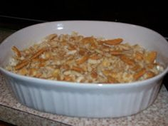 This chicken casserole recipe is my favorite and is so easy to make. It also has special meaning to me.   My cheerleading sponser when I was...
