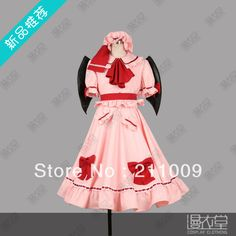 touhou project Remilia Scarlet  cosplay costume-in Costumes from Novelty & Special Use on Aliexpress.com | Alibaba Group