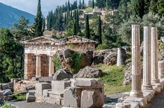 UNESCO World Heritage Site #287: Archaeological Site of Delphi