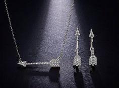 Women/'s Ear Stud Boucles d/'oreilles 18k or blanc rempli Noir CZ Mode Bijoux Cadeau