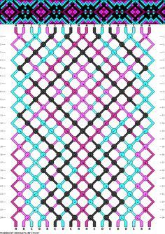 Muster # 93247, Streicher: 18 Zeilen: 24 Farben: 5
