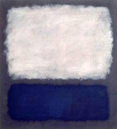 Blue and Gray by Mark Rothko