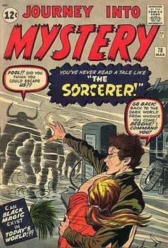 Journey Into Mystery # 78 by Jack Kirby & Dick Ayers