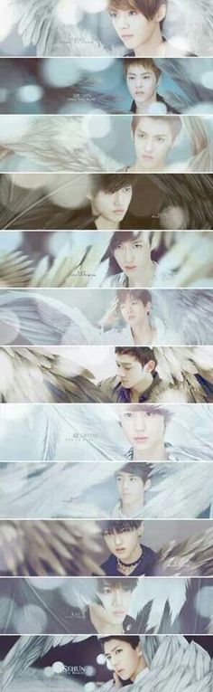 EXO fanart-They are my angels<3