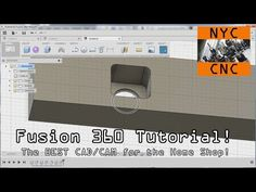 Fusion 360 Tutorial: The BEST CAD & CAM for the Home Shop! - YouTube
