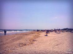 "Beach - ""Rimini: eat (piadina and gelato), drink, kitesurf, sunbathe"" by @getpalmd"