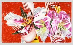 Available for sale from Hamilton-Selway Fine Art, James Rosenquist, Shriek Color monoprint and lithograph on two sheets of Arches paper, 42 × James Rosenquist, Claes Oldenburg, Pop Art Movement, Arches Paper, Feminist Art, Andy Warhol, Conceptual Art, Aesthetic Art, Contemporary Artists