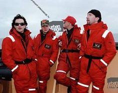 #U2History - 20th June 1992: @u2 protest against the #Sellafield nuclear plant for Greenpeace International on the coast of the Irish Sea in #Cumbria, #England.  Photos By: ©Adrian Boot / urbanimage.tv VIA: urbanimage.tv #U2NewsIT  #U2 #u2memes #Bono #BonoVox #TheEdge #AdamClayton #LarryMullenjr #rock #music #rockmusic #rockband #band #90s #90sstyle #90smusic #90srock #greenpeace