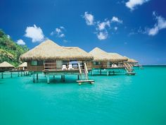 Book Hotels Online: Book Budget and Luxary hotels in India and International at get deals.  #luxury #booking #hotel #food #life #travel Vacation Places, Dream Vacations, Vacation Spots, Places To Travel, Places To See, Honeymoon Destinations, Honeymoon Ideas, Tahiti Vacations, Tahiti Resorts