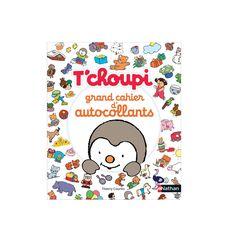 400 autocollants T'choupi pour créer, décorer et s'amuser ! 20 planches d'autocollants et 10 décors pour créer des univers ou décorer ses affaires.