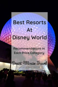 Find out which hotels are the best Disney World resorts in each price category and what to expect from each Disney World Resort category. Disney Resorts List, Best Disney World Resorts, Disney Resort Hotels, Disney World Florida, Best Resorts, Disney World Trip, Disney Vacations, Travel With Kids, Family Travel