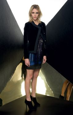 Look 07 _ 544 Jacket . 364 Dress . 294P Shoes