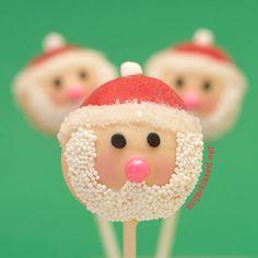 Santa cakepops