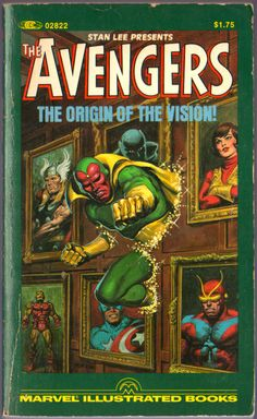 The Vision is my favorite Marvel superhero and second only to the Batman.