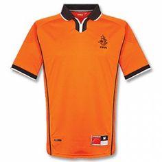 Holland National Team 1998 Home Retro Soccer Shirt Jersey  K683  Football  Tops bbe6e3184