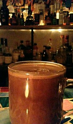 """#MixologyMonday brings a late night, Smoked Hot Chocolate - Steamed Milk, Dark Chocolate, Sumptuous Chocolate Mole' Craft Cocktail Syrup, and a generous pour of Fidencio Clasico Mezcal.  Our Chocolate Mole' Syrup is made from Organic Cocoa, Organic Sugar Cane, Sea Salt, Organic Lemon Juice and Organic Chilies.   Have You Tried  """"Vermont's Other Syrup""""? Sustainably Sourced, Small Batch Craft Cocktail Syrups.  Available at Vermont's finest liquor outlets and specialty retail stores.  Free…"""
