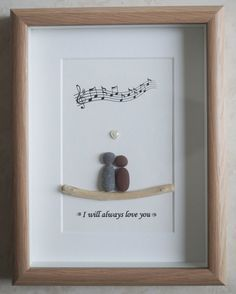 This is a beautiful small Pebble Art framed Picture of a Couple - I will always love you handmade by myself using Pebbles, Driftwood and White Heart Size of Picture incl Frame : approx. 22cm x 17cm Thanks for looking Doris Facebook: https://facebook.com/Pebbleartbyjewlls4u Product Code: P - Orange