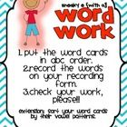 This FREEBIE word work center focuses on silent e with the vowel o.  Students put the word cards in ABC order and record it on their recording sheet. Great as a literacy center!