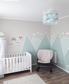 The post Berge. appeared first on Kind Berge. The post Berge. appeared first on Kinderzimmer. The post Berge. The post Berge. appeared first on Kind appeared first on Zimmer ideen. Baby Room Boy, Baby Bedroom, Baby Room Decor, Nursery Room, Kids Bedroom, Nursery Decor, Nursery Ideas, Room Kids, Girl Nursery