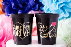 Same Penis Forever Cups & Penis Straws are such a fun addition to any bachelorette party! - Yippee Daisy    #bachelorettepartydecor #partycups