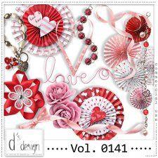 Vol. 0141 - Love Mix  by Doudou's Design  #CUdigitals cudigitals.com cu commercial digital scrap #digiscrap scrapbook graphics