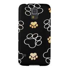 Dog Puppy Paw Prints Gifts for Dog Lovers Galaxy S5 Case SOLD on Zazzle