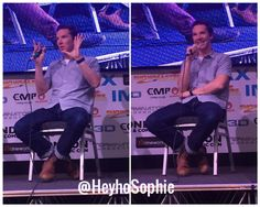 Benedict Cumberbatch. July 29, 2017. London Film & Comic Con. [Photo by @HeyhoSophie on Twitter]
