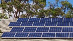 Australia's first household to add a Tesla Powerwall battery can this week begin buying and selling electricity on the market, after the addition of a world-leading software program by Canberra co Solar Power System, Off The Grid, Sea Waves, Renewable Energy, Windmill, Solar Panels, Household, Outdoor Decor