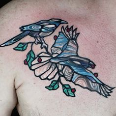 Check out this high res photo of St. Marq's tattoo from the Stained Glass episode of Ink Master on Spike.com.