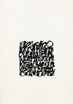 The Berlin Calligraphy Collection: Thomas Hoyer