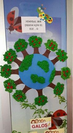 Protect the Forests Earth Day Projects, School Projects, Projects To Try, Earth Craft, Earth Day Crafts, Earth Day Activities, Preschool Activities, Diy And Crafts, Crafts For Kids