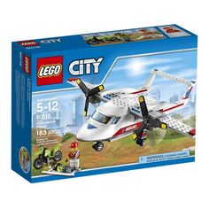 60116 Avião-Ambulância - LEGO® City Great Vehicles