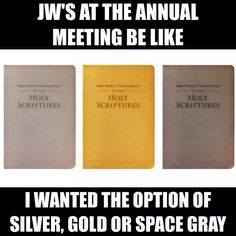 """""""What are your color options brothers? Jw Humor, Jehovah's Witnesses, Class Management, Give Thanks, Psalms, Funny, Hilarious Stuff, Encouragement, Bible"""