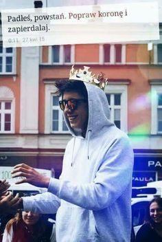 Mąż mój ❤️ Popular People, My Crush, My King, Babe, My Music, Besties, Raincoat, Idol, Harry Potter