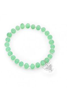 Bracciale Amen Angelo di Dio murano verde con pendente M COMPRALO SUBITO!: http://www.malagutigioielli.it/index.php?id_product=1072&controller=product