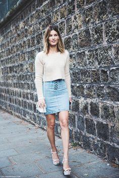 Paris_Fashion_Week_Spring_Summer_15-PFW-Street_Style-Hanneli_Mustaparta-Denim_Skirt-Angora_jumper-