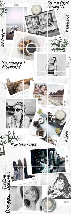 fashion & lifestyle - grid layout