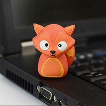 cartoon Fox Model USB Flash 2.0 Memory Drive Stick Pen/Thumb/Car usb flash drives 4gb 8gb 16gb 32gb 64gb flash card pendrives#brandedusbflashdrives #bulkusbflashdrive #wherecanibuyaflashdrive