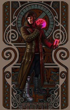 Gambit Art Nouveau by Kim Razvan