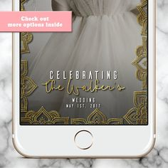 Custom Snapchat Filter, Wedding Snapchat Filter, Snapchat Filter Wedding, Snapchat Geofilter Wedding, Engagment Snapchat Filter, Snapchat Filter, Wedding Snapchat Filter  This mandala boho personalized Snapchat geofilter is a fun way to make your day extra special. Personalize your occasion with your own custom-made Snapchat geofilter and your guests' selfies will never look better. I will sculpt the perfect filter for you.  HOW IT WORKS: ****************** 1. Add this listing to your cart…